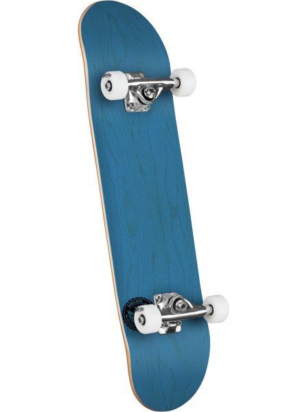 Mini-Logo Skateboard komplett ML Chevron Stamp - Shape 291 dyed blue vorderansicht 0162203