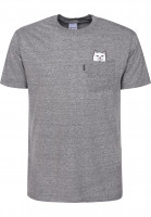 Rip N Dip T-Shirts Lord Nermal Pocket grey Vorderansicht