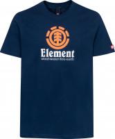 Element-T-Shirts-Vertical-Kids-navy-orange-white-Vorderansicht