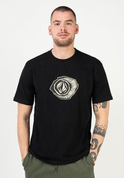 Volcom T-Shirts Sick 180 LSE black vorderansicht 0323533