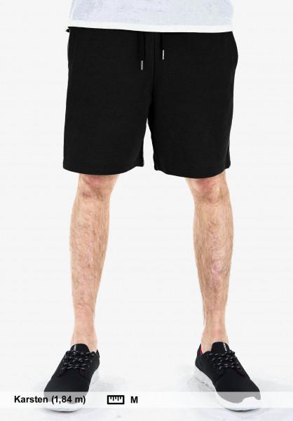 Mahagony Shorts T.O.L. Sweatshort black Vorderansicht