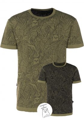 Rip N Dip Nermal Leaf Pattern Jacquard Knit