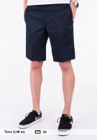 Dickies-Chinoshorts-11-Slim-Straight-Work-navy-Vorderansicht