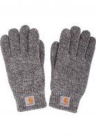 Carhartt-WIP-Handschuhe-Scott-Gloves-black-wax-Vorderansicht