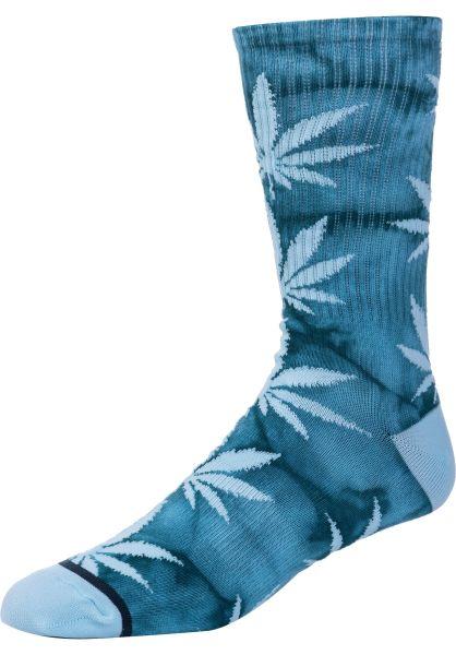 HUF Socken Plantlife Crystal Wash biscaybay vorderansicht 0631630