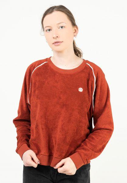 Element Sweatshirts und Pullover Mona picante vorderansicht 0423065