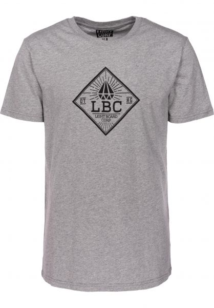 Light T-Shirts Hollow grey heather Vorderansicht