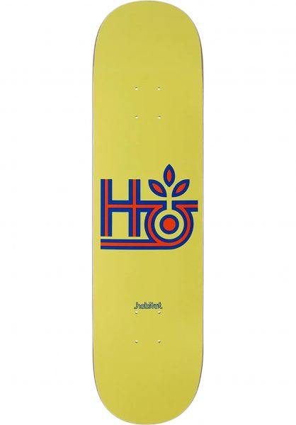 Habitat Skateboard Decks Tri-Color Pod yellow vorderansicht 0266481