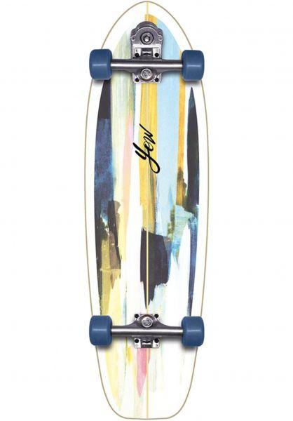"YOW Cruiser komplett Teahupoo 34"" Surfskate multicolored vorderansicht 0252519"