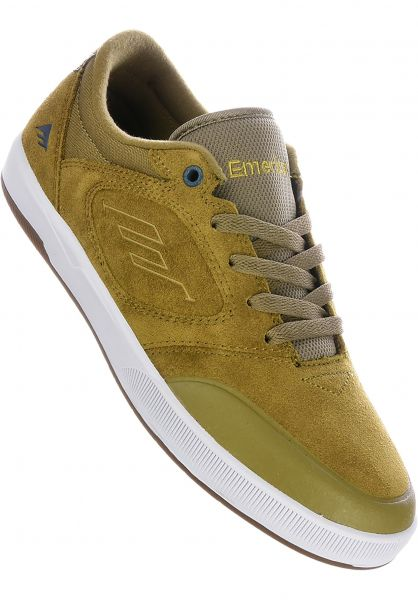 Dissent Emerica All Shoes in khaki for