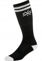 Rebel-Rockers-Socken-Tube-black-Vorderansicht