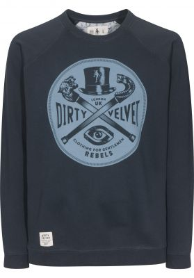 Dirty Velvet Rebel Crest