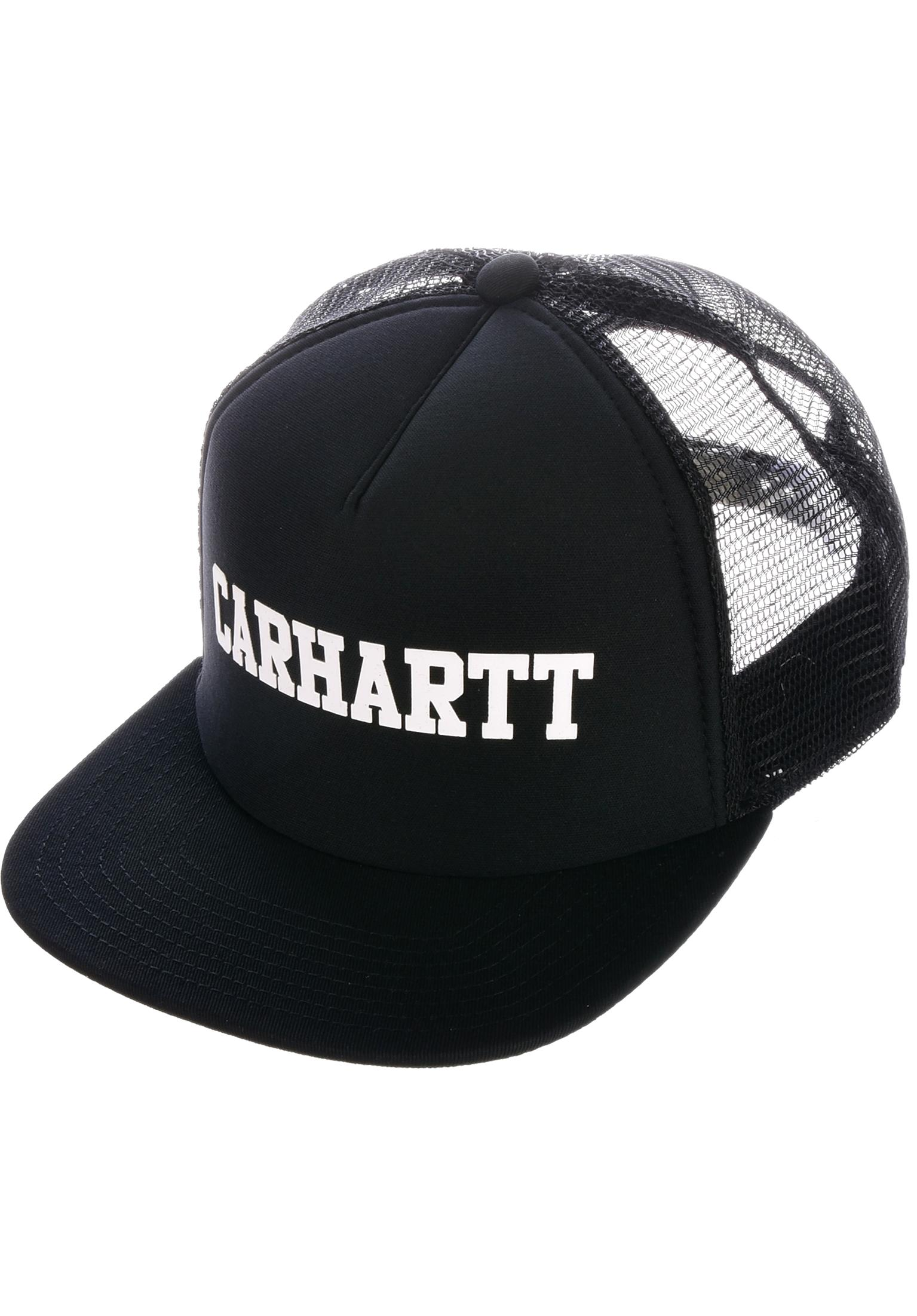5d62bead72b09 College Trucker Carhartt WIP Caps in black-white for Men | Titus