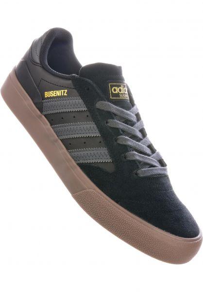 adidas-skateboarding Alle Schuhe Busenitz Vulc II coreblack-greysix-gum vorderansicht 0604761