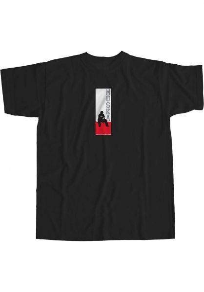 Shortys T-Shirts Muska Board black vorderansicht 0323886