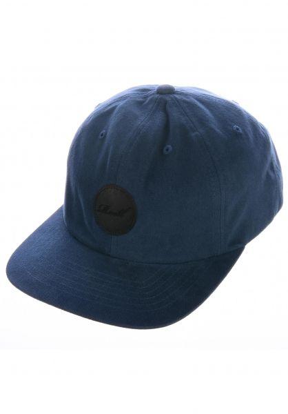 Reell Caps Flat 6 Panel blue vorderansicht 0565010