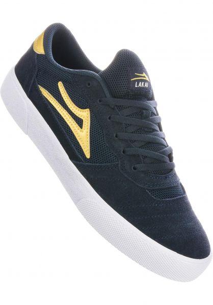Lakai Alle Schuhe Cambridge navy-gold vorderansicht 0604604