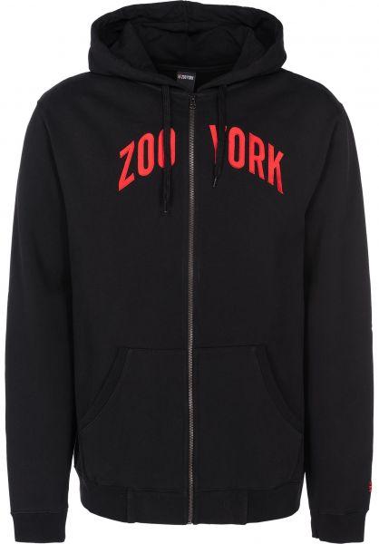 Zoo York Zip-Hoodies Zoo Zip black vorderansicht 0454767