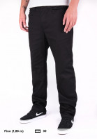 Element Chinos und Stoffhosen Sawyer flintblack Vorderansicht