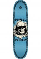 Powell-Peralta Skateboard Decks Ripper Chainz Popsicle blue Vorderansicht