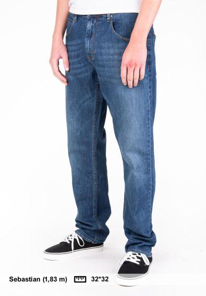 Reell Jeans Lowfly midblue-denim Vorderansicht 0105021