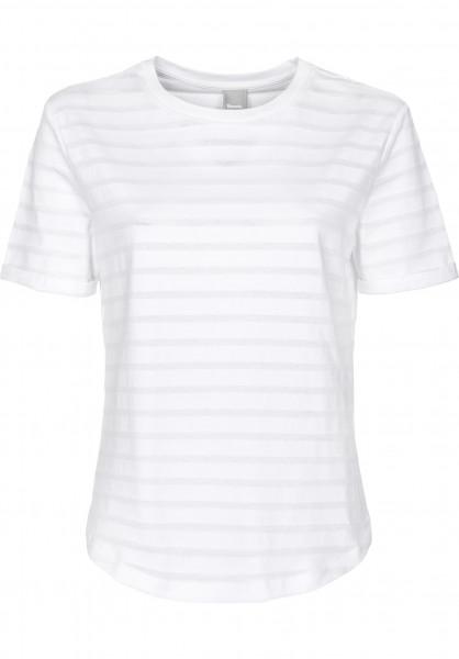 Bench T-Shirts Transparent Stripe bright-white Vorderansicht