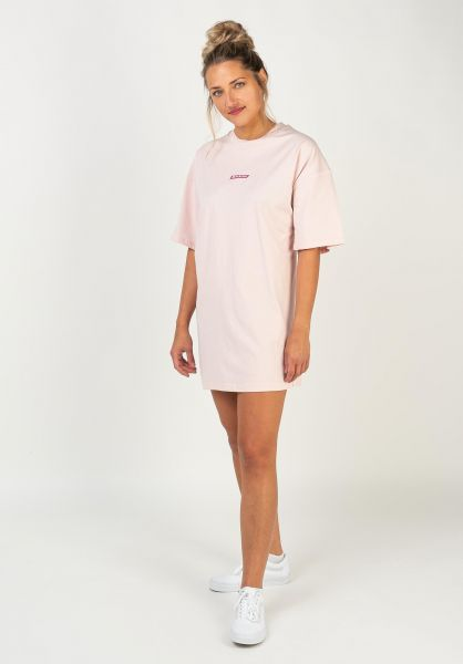 Dickies T-Shirts Clara City lightpink vorderansicht 0321970