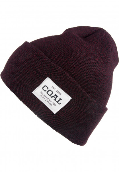 coal Mützen The Uniform darkburgundy-marl Vorderansicht