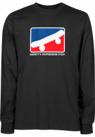 Shortys-Longsleeves-Skate-Icon-black-Vorderansicht