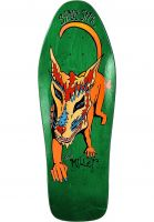 Schmitt-Stix Skateboard Decks Chris Miller Dog Large Full Size green Vorderansicht