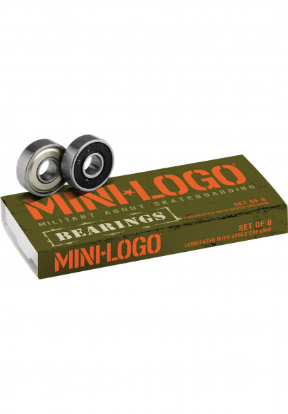 Mini-Logo Kugellager 608ZRS no color Vorderansicht
