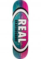 Real Skateboard Decks Parallel Fade Oval blue-pink Vorderansicht