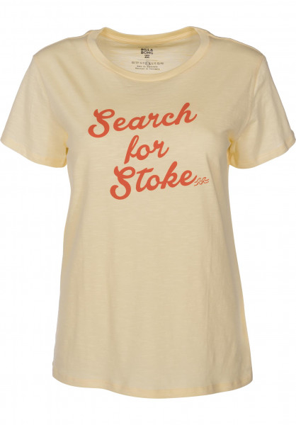 Billabong T-Shirts Search for Stoke pinacolada Vorderansicht