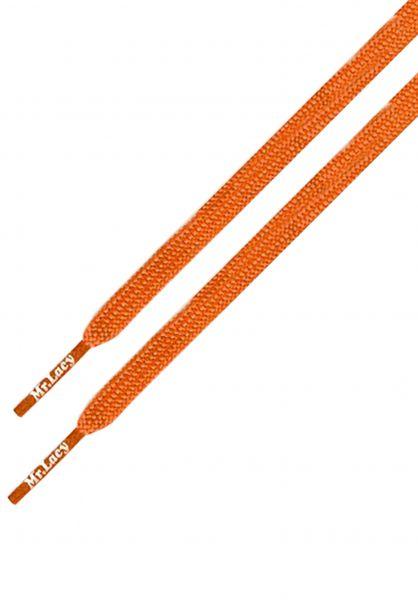 Mr. Lacy Schnürsenkel Runnies Flat bright-orange vorderansicht 0640031