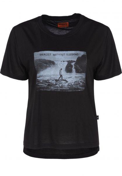 Plenty Humanwear T-Shirts Sandy Crop black vorderansicht 0398367