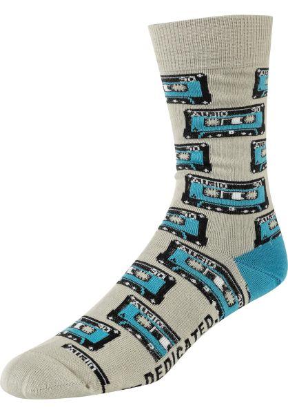 Dedicated Socken Sigtuna Tapes grey vorderansicht 0631941