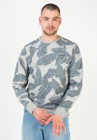mazine-sweatshirts-und-pullover-findon-allover-sweater-greymelange-vorderansicht-0423207