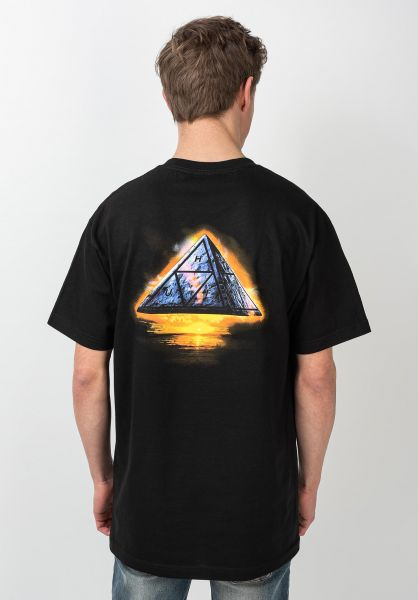 HUF T-Shirts Ancient Aliens black vorderansicht 0321693