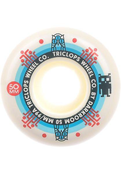 Triclops Rollen Segment 99A white vorderansicht 0134945