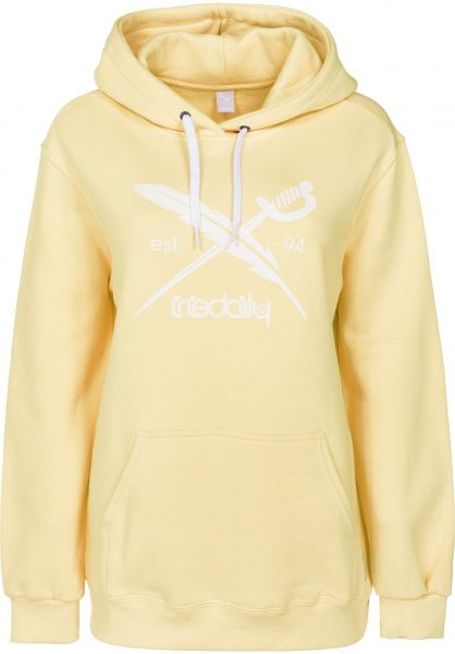 iriedaily Hoodies Big Flag lemonade vorderansicht 0444696