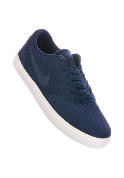 aislamiento Campanilla Eso  Check GS Nike SB All Shoes in midnightnavy-white for Kids | Titus