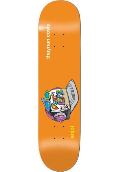 Enjoi Skateboard Decks Thaynan Snap Back R7 orange vorderansicht 0265236