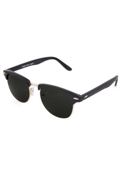 Zunny Sonnenbrillen Malcolm black-gold Vorderansicht 0590427