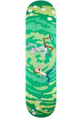 Primitive Skateboards Rick n Morty Portal Glow