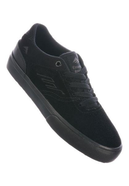 Emerica Alle Schuhe Reynolds Low Vulc Kids black-black-black vorderansicht 0216064