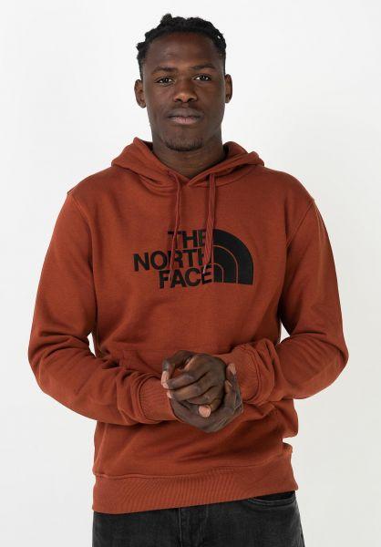 The North Face Hoodies Drew Peak brandybrown-tnfblack vorderansicht 0445531