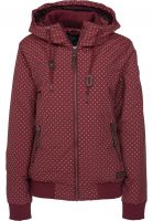 Ragwear Winterjacken Nuggie A wine-red Vorderansicht