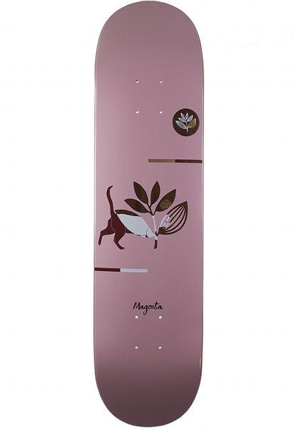 Magenta Skateboard Decks Cat rose Vorderansicht