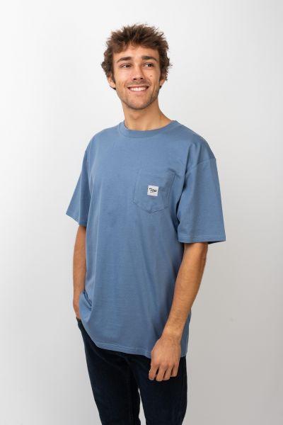 TITUS T-Shirts Script Pocket infinity vorderansicht 0399514
