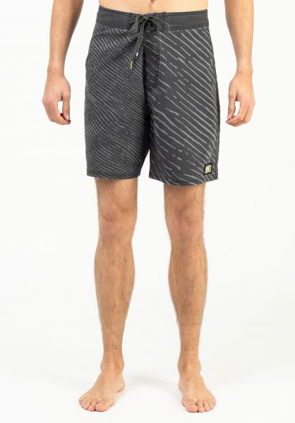 Rip Curl Beachwear Mirage Mind Wave washedblack vorderansicht 0205502